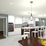 Kitchen and Master Suite Addition in Franklin Lakes, NJ Plan 3 (2)-Design Build Planners
