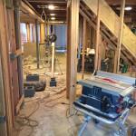 Basement Finishing in Warren NJ In Progress 3-19-2016 (1)