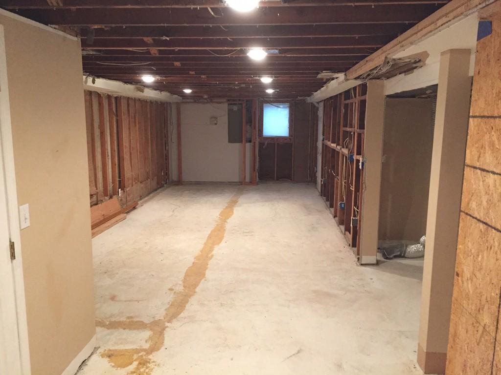 Basement refinishing in warren nj design build pros - Refinishing basement ideas ...