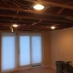 Basement Refinishing in Warren NJ In Progress 10-30-15 (2)
