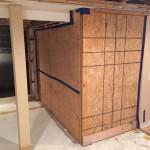 Basement Refinishing in Warren NJ In Progress 10-30-15 (3)