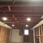 Basement Refinishing in Warren NJ In Progress 10-30-15 (4)