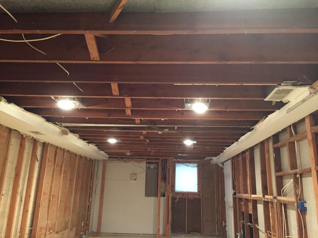 basement refinishing in warren nj in progress 10 30 15 4