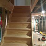 Basement Refinishing in Warren NJ In Progress 3-16-16 (2)