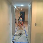 Basement Refinishing in Warren, NJ In Progress 5-10-2016 (20)