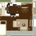Kitchen and Mud Room Remodel in Mercer County NJ Dollhouse Overview Plan 1 (2)-Design Build Planners