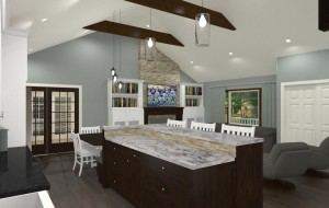 Kitchen and Mud Room Remodel in Mercer County NJ Plan 3 (4)-Design Build Pros