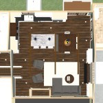 Kitchen and Mud Room Remodel in Mercer County NJ  Plan 3 Dollhouse Oveview (2)-Design Build Planners