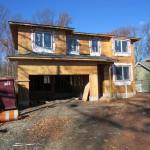 New Home Construction in Cranford NJ In Progress 11-24-2015 (9)