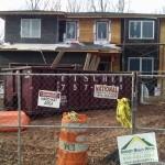 New Home Construction in Cranford NJ In Progress 12-15-2015 (1)