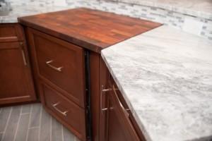 Wood butcher block countertop - Design Build Pros (5)
