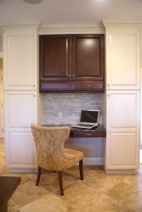 Home Office Design, kitchen work station ~ Design Build Pros