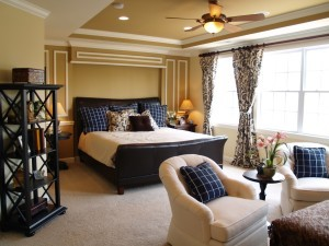 Spacious Master Bedroom Design - Design Build Pros