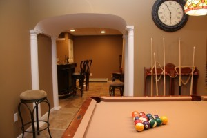 New Jersey basement remodeling from the Design Build Pros contractor network