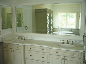 Marble vanity top ~ Design Build Pros