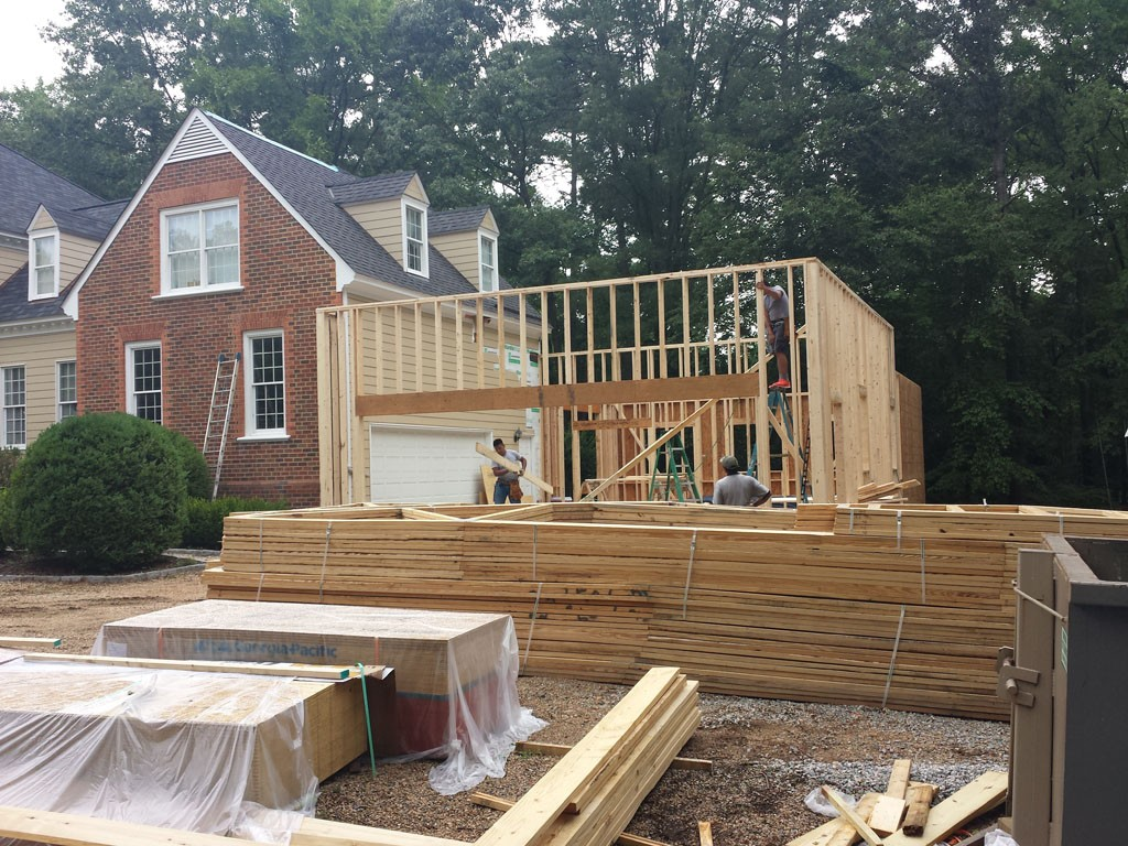 Virginia Home Addition Project by Leo Lantz Construction ... Project X Car In Pool