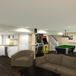 Basement Remodel in Ocean County, NJ CAD (1)-Design Build Pros