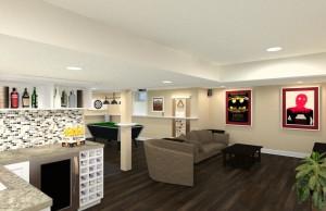 Basement Remodel in Ocean County, NJ CAD (2)-Design Build Pros