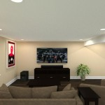 Basement Remodel in Ocean County, NJ CAD (4)-Design Build Pros