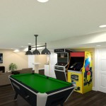 Basement Remodel in Ocean County, NJ CAD (5)-Design Build Pros