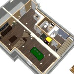 Basement Remodel in Ocean County, NJ Dollhouse Overivew (1)-Design Build Pros