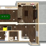 Basement Remodel in Ocean County, NJ Dollhouse Overivew (2)-Design Build Pros