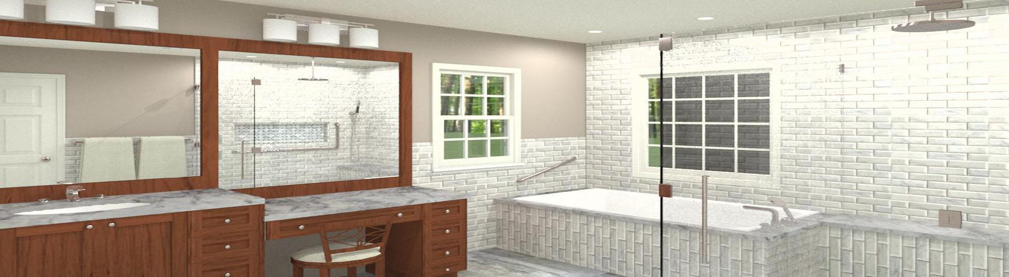 Bathroom CAD Design (2)-Design Build Pros