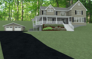 Add A Level and Interior Renovation in Morris County, NJ CAD (1a)-Design Build Pros