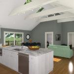 Open Floor Plan Concept CAD (2)-Design Build Planners