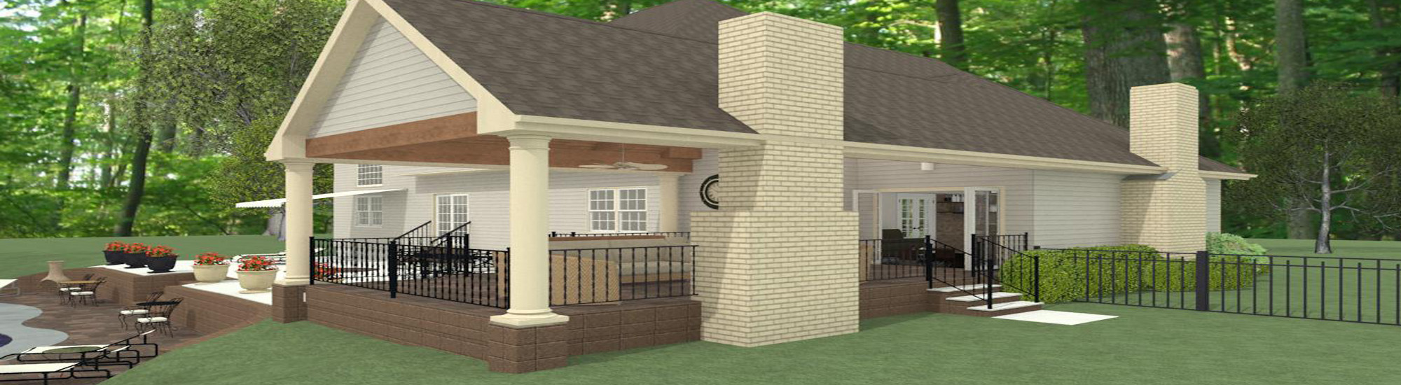 Outdoor Living Space CAD (1)-Design Build Pros