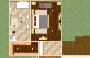 Dollhouse Overview of a Master Suite Addition in Millstone NJ (2)-Design Build Pros
