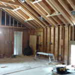 Open and Vaulted Kitchen in Colts Neck, NJ In Progress 8-10-2016 (7)