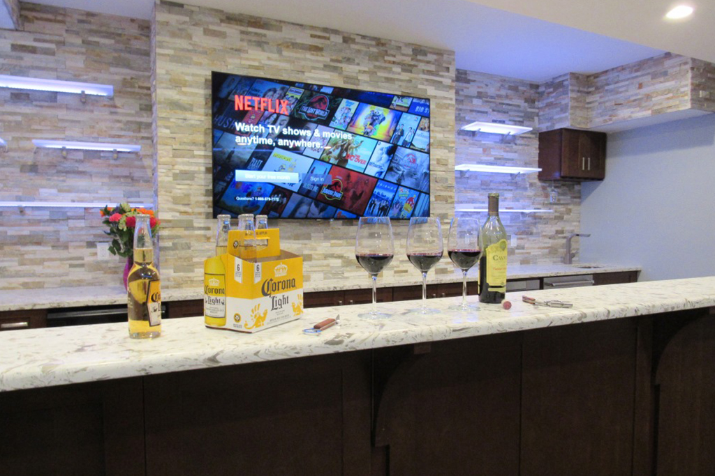 Wet Bar Remodel Contractor Atlantic County NJ