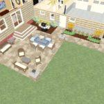 Dollhouse Overview of Kitchen PLUS in Montclair, NJ CAD (2)-Design Build Pros