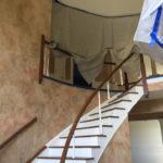 Marble for a Grand Entry Foyer in Warren, NJ In Progress (2)