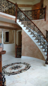Marble for a Grand Entry Foyer in Warren, New Jersey (4)-Design Build Pros