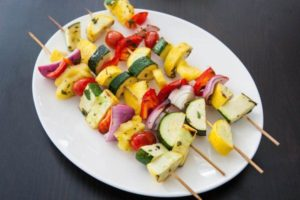 Rooted Veggie Kabobs