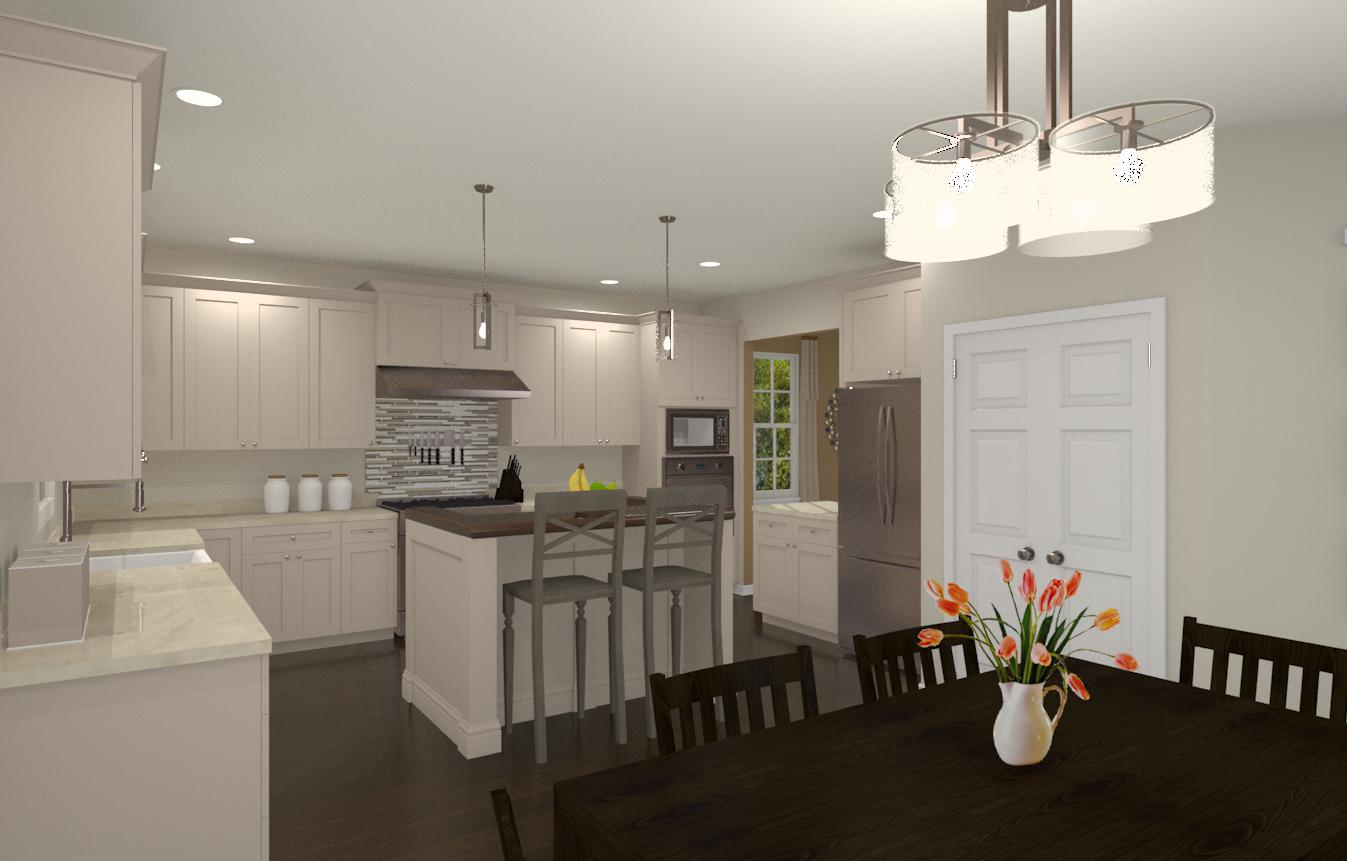 Monmouth county kitchen and bathroom remodel design for Bath and kitchen designs