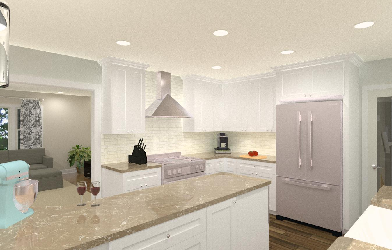 Open Kitchen in Bridgewater, NJ - Design Build Planners