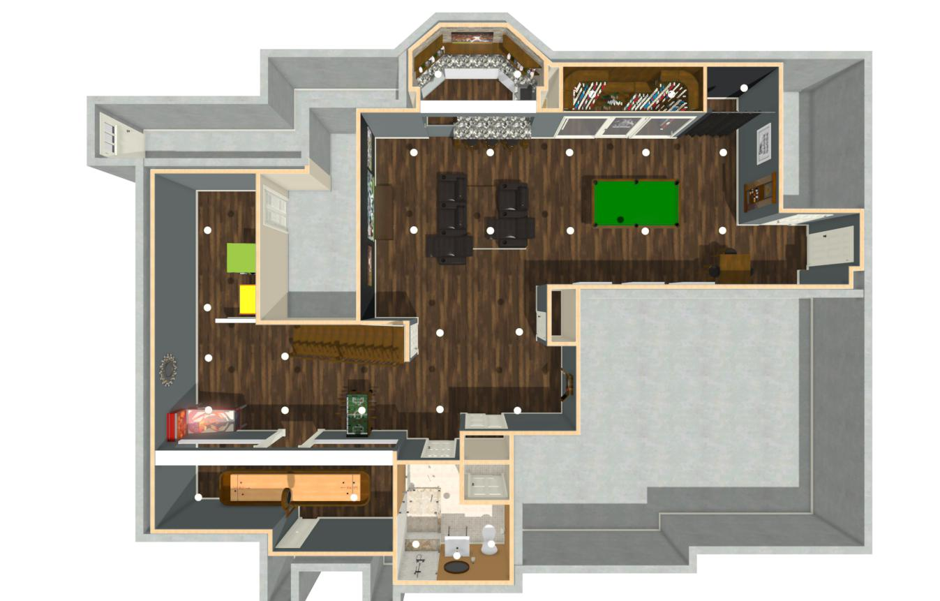 Basement Renovation Plus In Ocean County Nj Design Build Pros