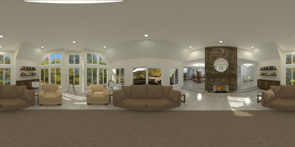 360 Degree View of Your Remodel - Design Build Planners