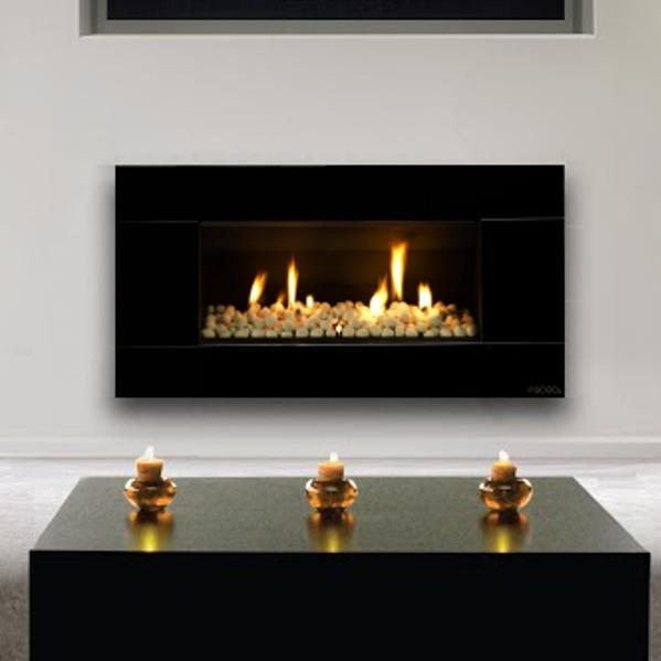 Crystal Or Stone In Gas Fireplace Design Build Planners