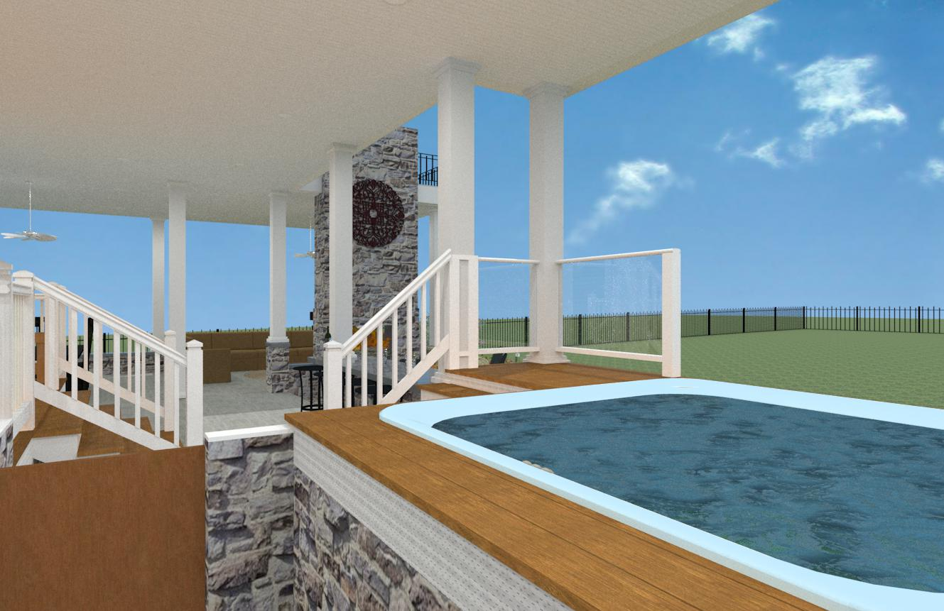 Flat Roof Terrace for Outdoor Living Space in Monmouth County NJ ...