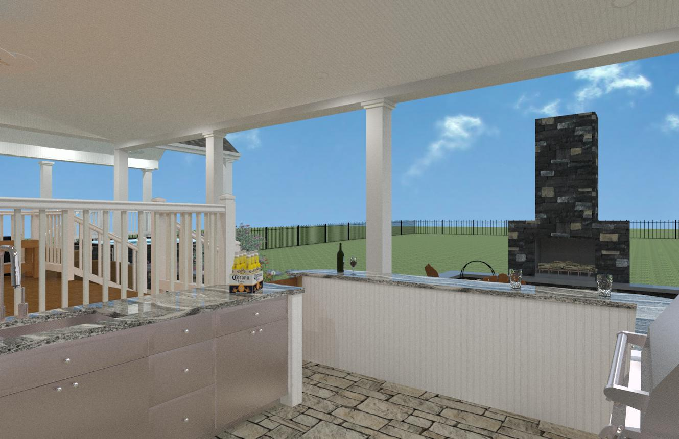 Outdoor Living Space in Monmouth County NJ - Design Build Planners