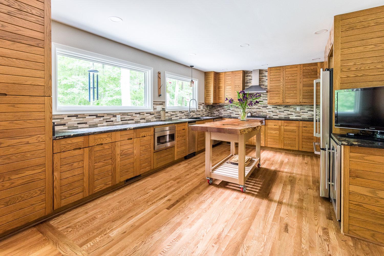 virginia kitchen remodel by leo lantz construction design build