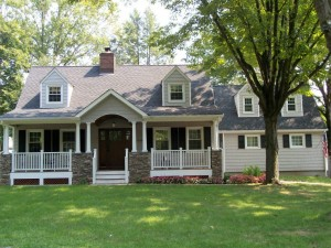 Front porch design build remodeling in New Jersey