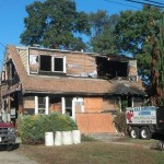 Home demolition in New Jersey