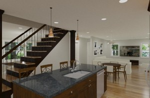 Add-A-Level Addition and First Floor Renovation in NJ (2)-Design Build Planners