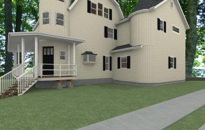 Addition for Historic Home in South Orange CAD (4)-Design Build Planners