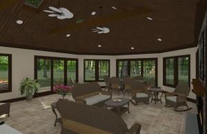 Outdoor Living Space in Morristown NJ Plan 3 (2)-Design Build Planners
